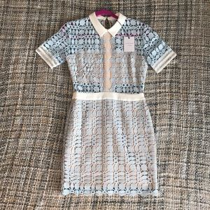 Brand new Endless rose light blue dress size Small